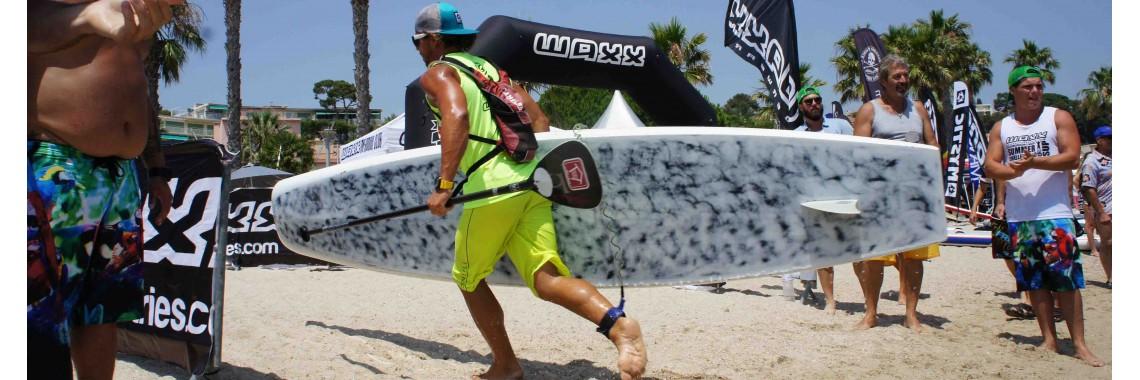 bežec so surfom